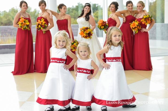 Red And White Flower Girl Dresses Red And White Toddler