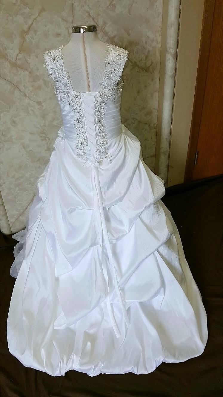 Matching wedding dress for my flower girls design your for Matching wedding and flower girl dresses