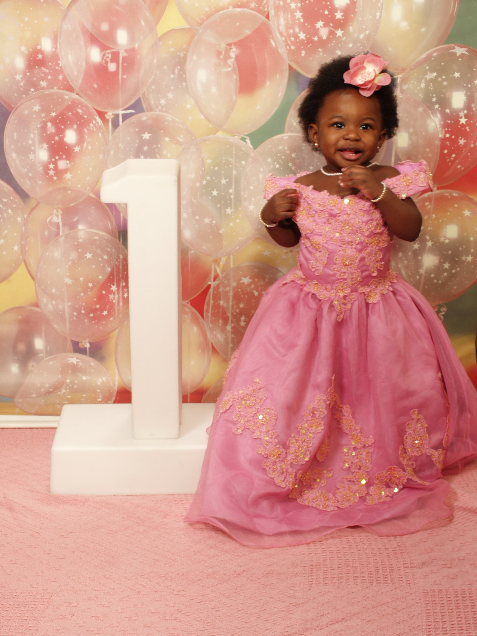 First Birthday Dress for this little one to wear at Disney.
