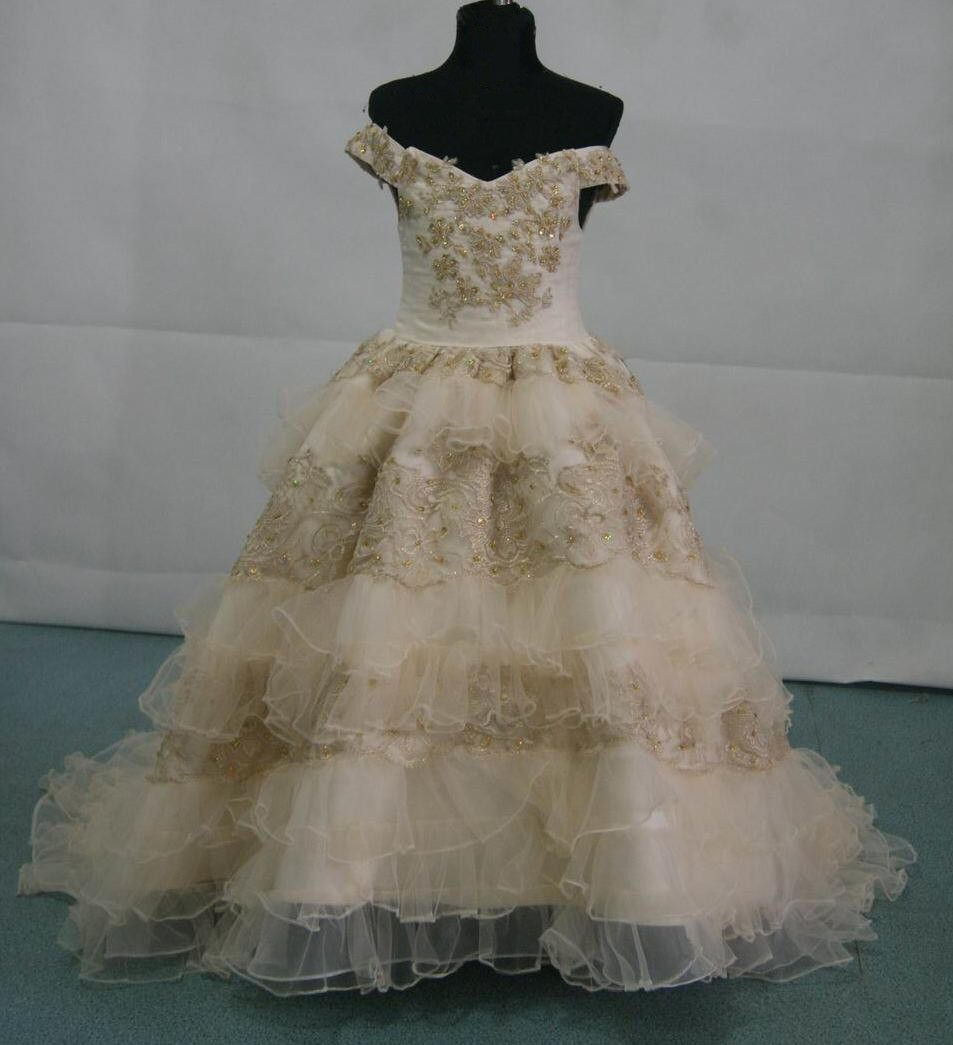 Southern bell pageant gown. Favorite design for special occasions