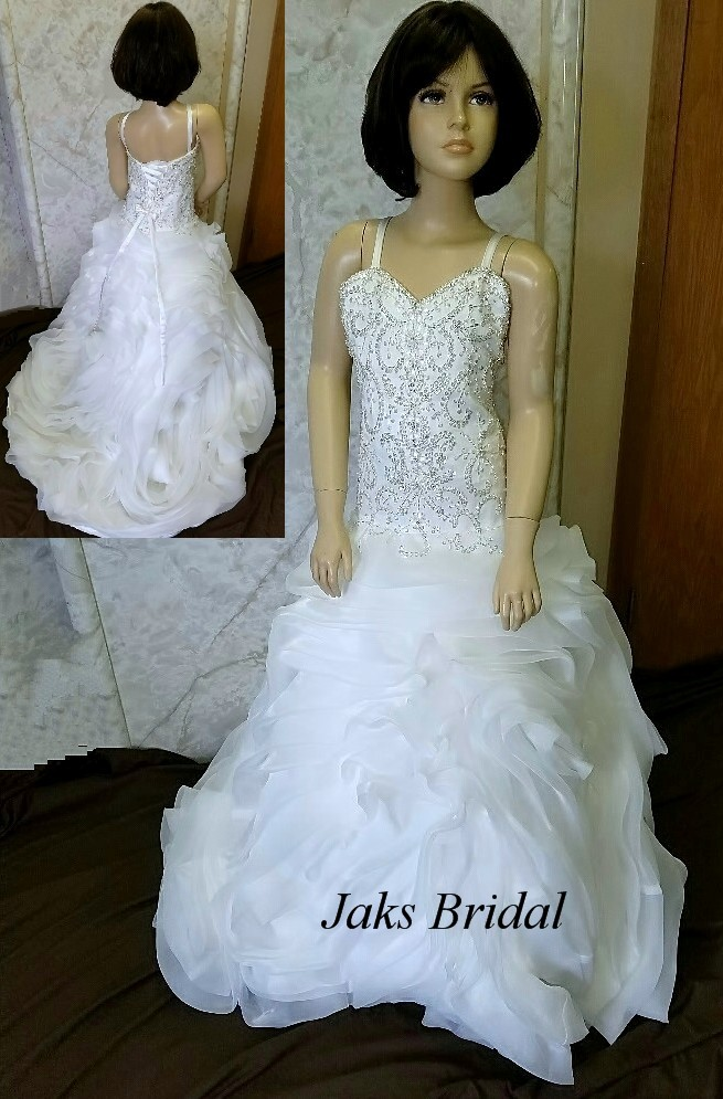 50d0f5471 Maggie sottero matching flower girl dresses. Designed to match the bride.